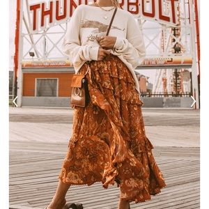 Spell & the Gypsy Collective. Aurora frill Skirt